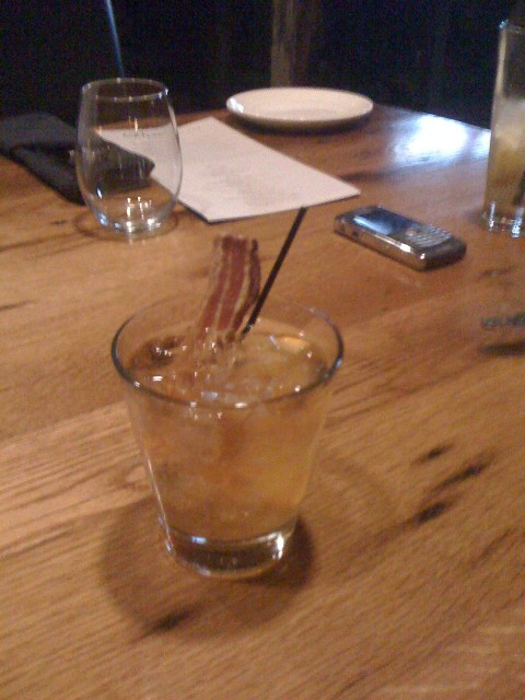 Bacon Whiskey Drink