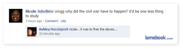 Facebook Civil War